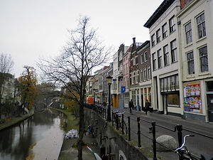 Utrecht, netherlands, canal