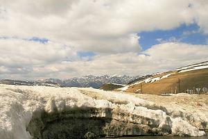 andorra, snow, ice