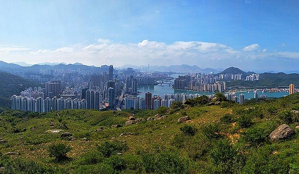 hong kong, trail, mountain, hiking, view, ha fa shan