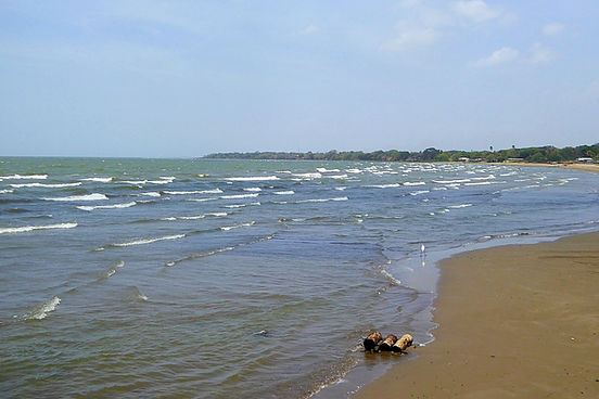 playa santo domingo isla de ometepe nicaragua