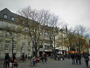 Munsterplatz, bonn, germany