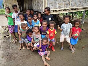 kokoda trail, track, papua new guinea, hike, trek, jungle, mountain, menari, children