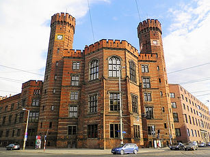 The Courthouse, castle, wroclaw, poland