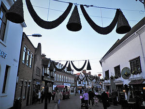 Stratford, christmas, england