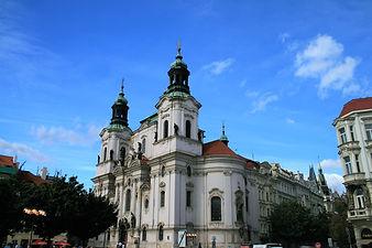 st nicholas church, prague, czech republic