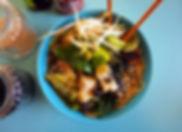 noodles, tofu, healthy, vegan, food, dinner