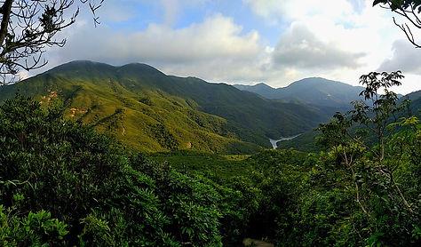 wilson trail, hong kong, hiking, view, mountains, trees