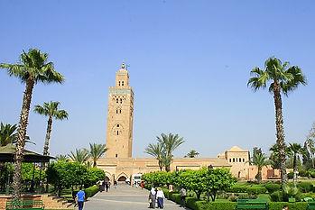 koutoubia mosque, marrakesh, morocco