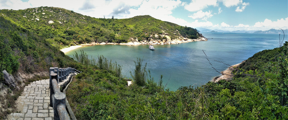 Looking towards Coral Beach