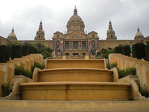 palau nacional de montjuic, spain, barcelona