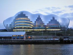 The Sage Gateshead Concert Venue, Newcastle, England