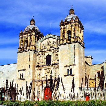 oaxaca cathedral mexico