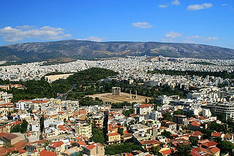 athens, greece, view