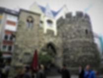 Sterntor, old city gate, bonn, germany