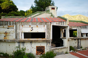 croatia, bar, derelict