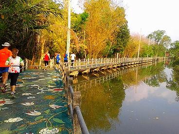 bangkok, thailand, running, canal