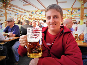 1L beer, stein, oktoberfest, munich, germany