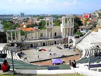 Roman Amphitheatre, plovdiv, bulgaria