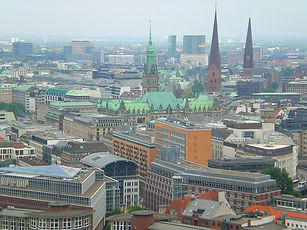 hamburg, germany, view