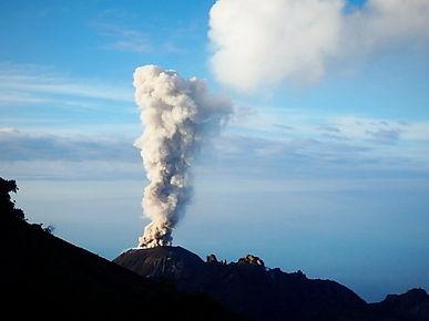 volcan santiaguito xela erupt guatemala