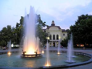 Knyaz Alexander I street, plovdiv, bulgaria