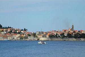 coast, croatia, water, korcula island
