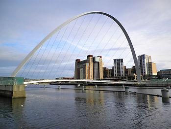 Millenium bridge, Newcastle, England