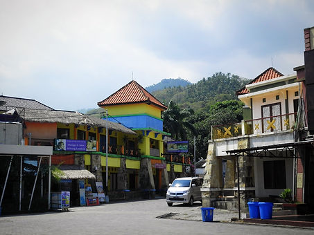Lombok, Indonesia, town