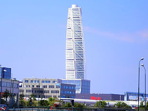 malmo, sweden, turning torso