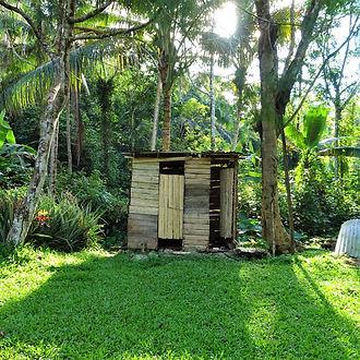 kokoda track, kokoda trail, hoi, camp, hike, trek, papua new guinea, outdoor toilet