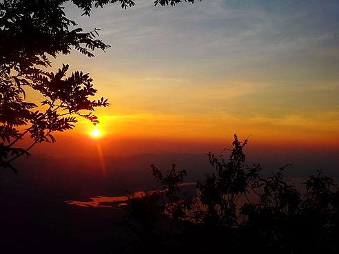 sunrise, lago de yojoa, honduras