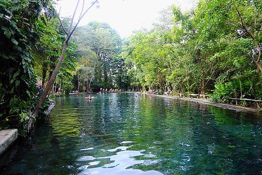 ojo de agua isla de ometepe nicaragua