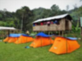 kokoda trail, track, papua new guinea, hike, trek, mountain, jungle, camp, tent