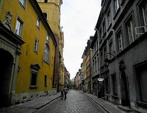 Stare Miasto, street, warsaw, poland