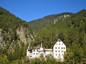 europe, mountains, castle, austria