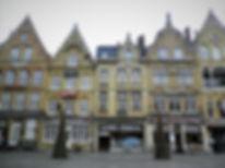 Grote Markt, market square, ypres, belgium