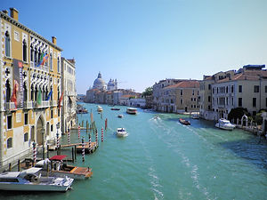 Venice, canal, italy