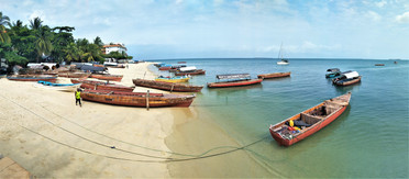 View from Stone Town