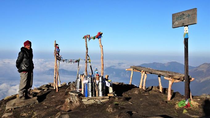 High altitude cafe
