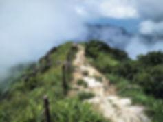lantau island, lantau trail, view, mountain, cloud, hiking, hong kong