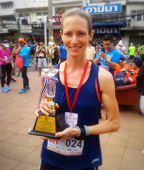 sikh thai run bangkok thailand trophy winner