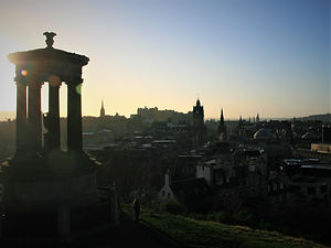 Edinburgh, Scotland, calton hill