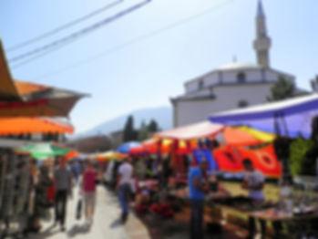 Bazaar, peja, kosovo