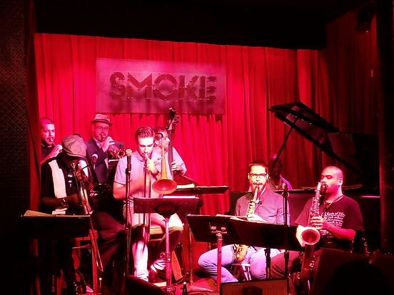 smoke jazz club, new york city