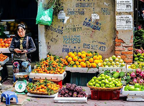 saigon, ho chi minh city, vietnam, market