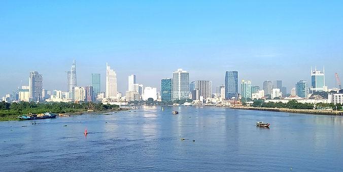 saigon, ho chi minh city, vietnam, city, water