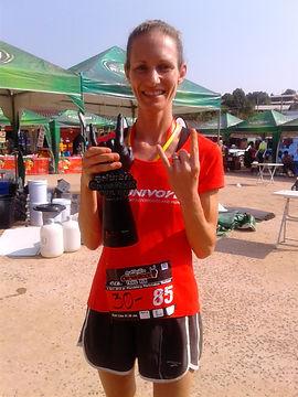 winner, trail run, trophy