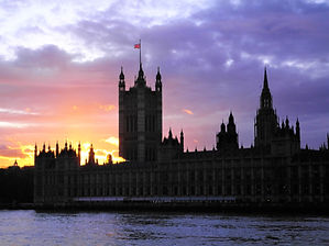 Houses of Parliament, london, england, sunset