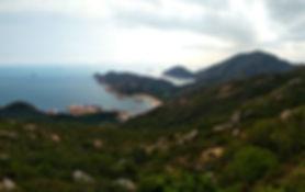 lamma island, hong kong, hiking, hike, mountains, scenery, view, nature, sea, water, lookout
