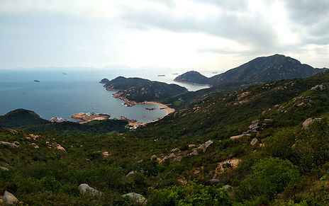 lamma island, hong kong, hiking, hike, mountains, scenery, view, nature, sea, water, lookout